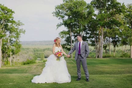 Hyatt Lost Pines 12th Hole Wedding Ceremony Site