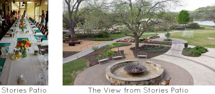 Stories Patio at Hyatt Lost Pines