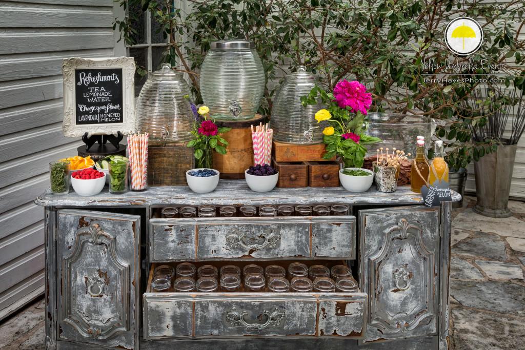Mercury Hall - Styled Tea & Lemonade Bar